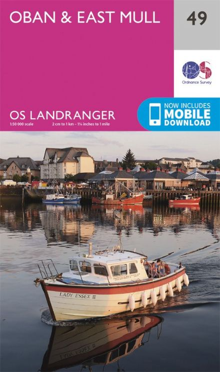OS Landranger 49 - Oban and East Mull